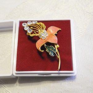 Fashion Accessories Elegant Flower Brooch
